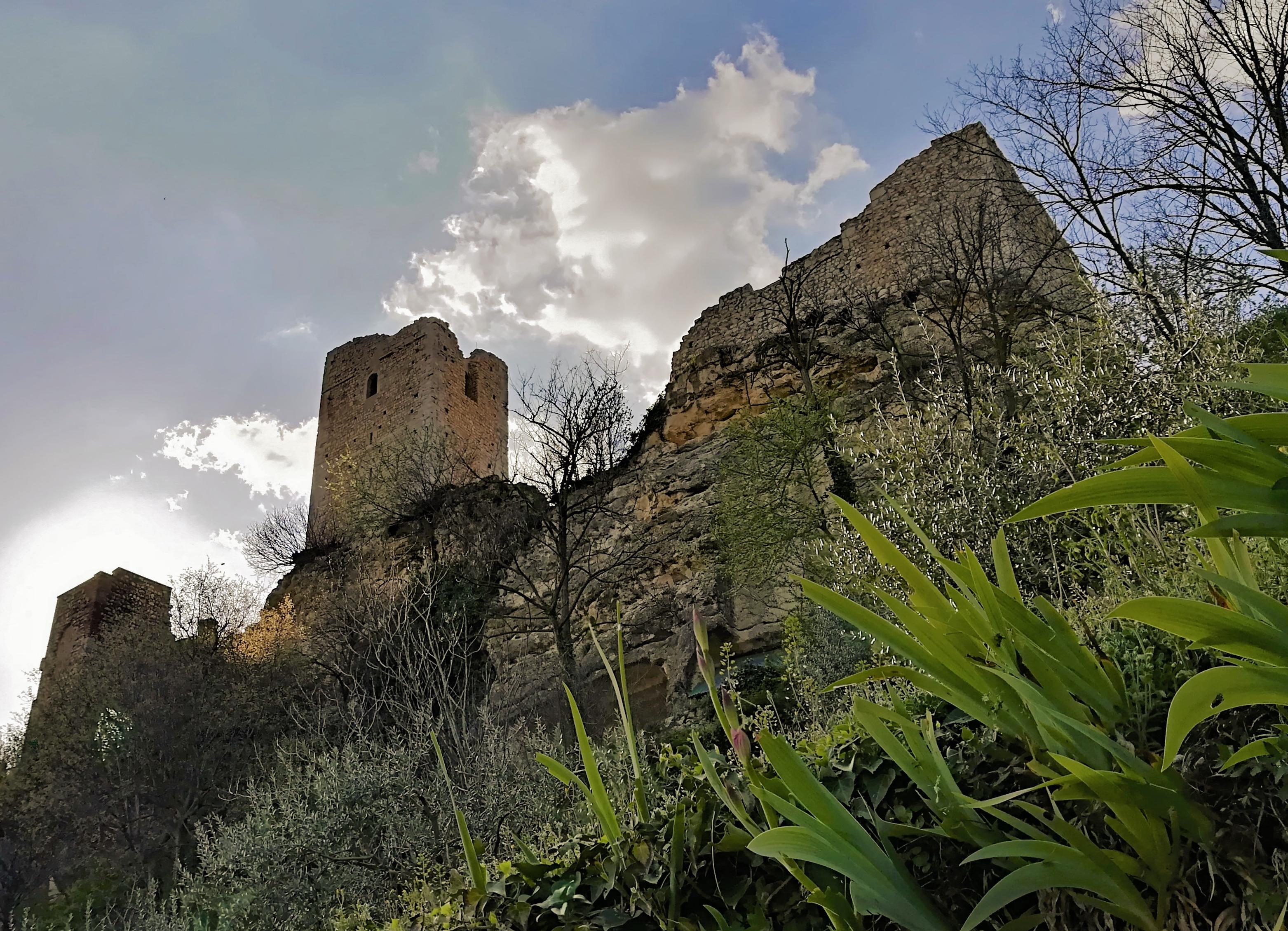 Sulla Rocca dei Vescovi guardando Verona