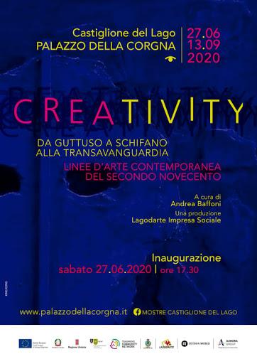 """""""Creativity, da Guttuso a Schifano alla Transavanguardia, linee d'arte contemporanea del secondo Novecento"""""""