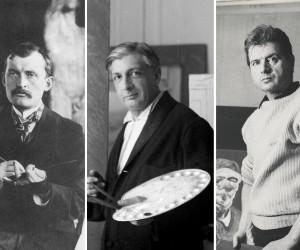Edvard Munch, Giorgio de Chirico, Francis Bacon