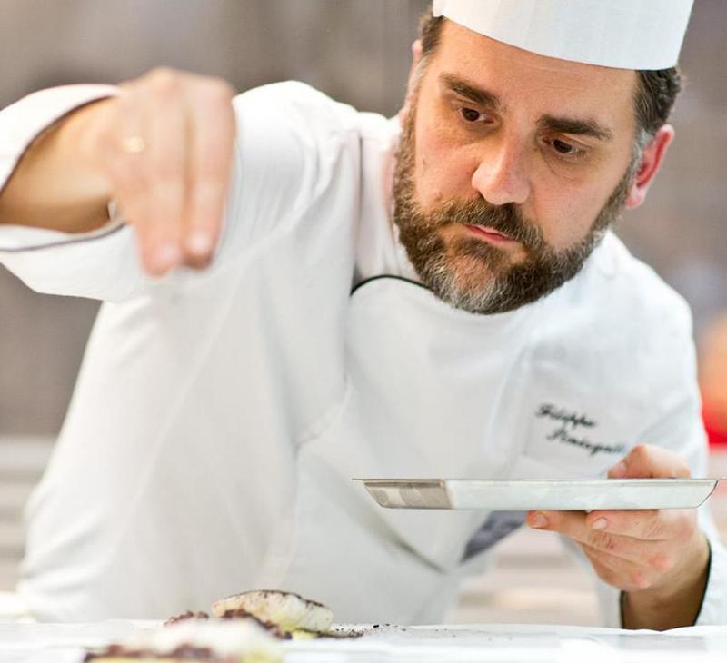 Lo Chef Filippo Sinisgalli a Riva del Garda (Tn)