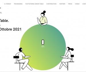 Al via Green Table, il Forum Internazionale su Architettura e Design per il futuro