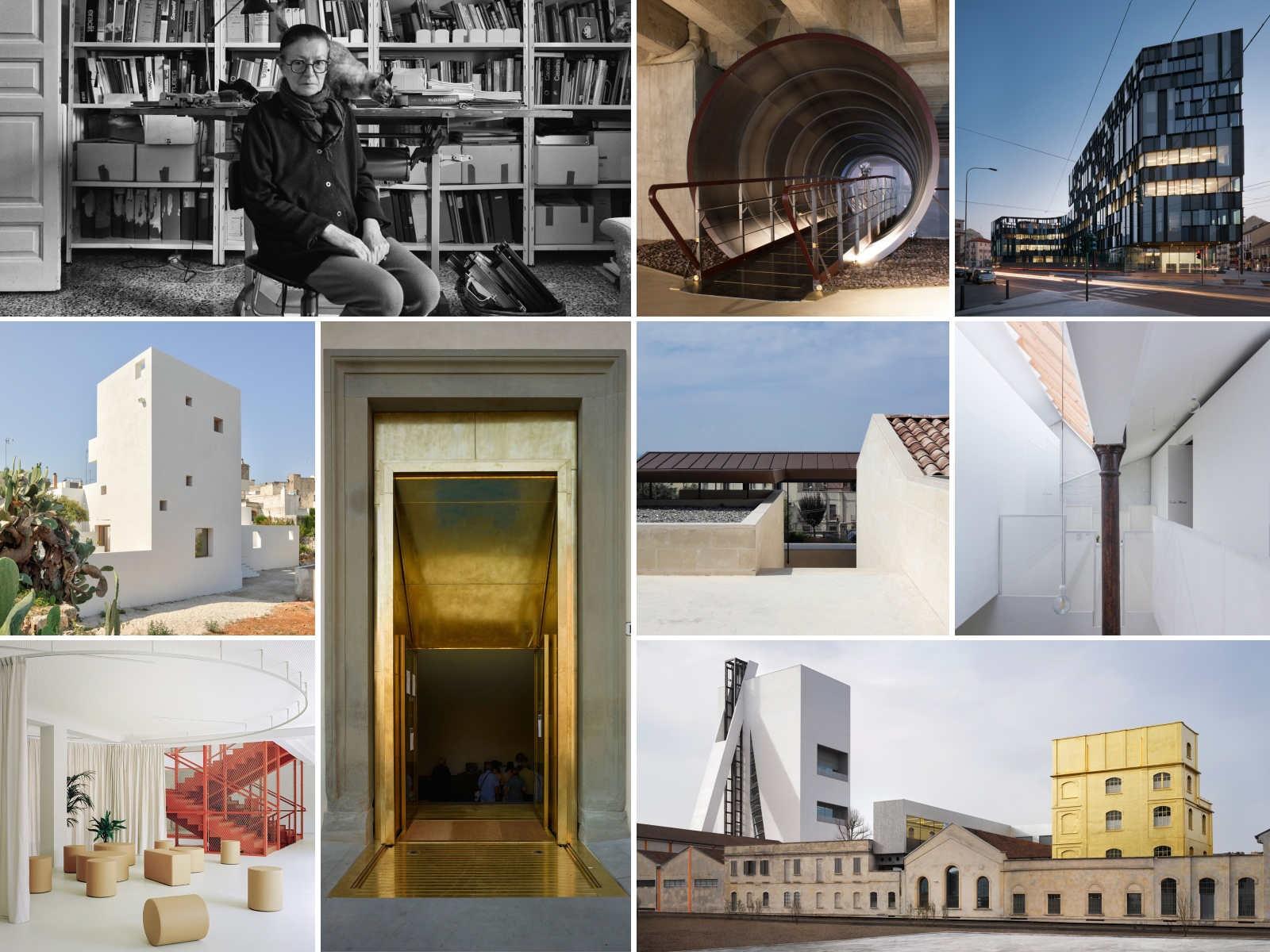 IN/ARCHITETTURA e i Premi assegnati per il 2020 a tutte le regioni italiane