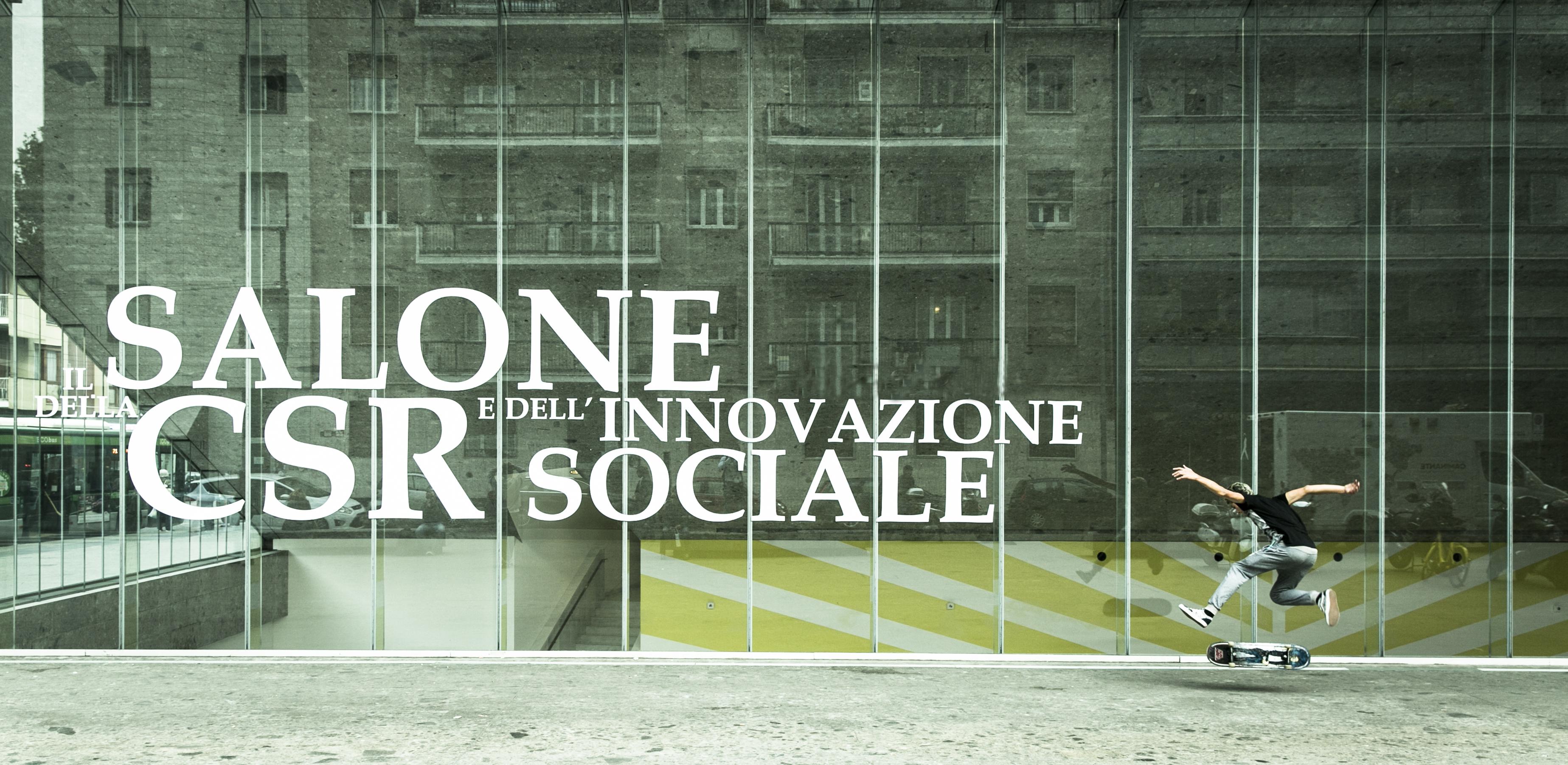 Rinascere sostenibili con il Salone della CSR