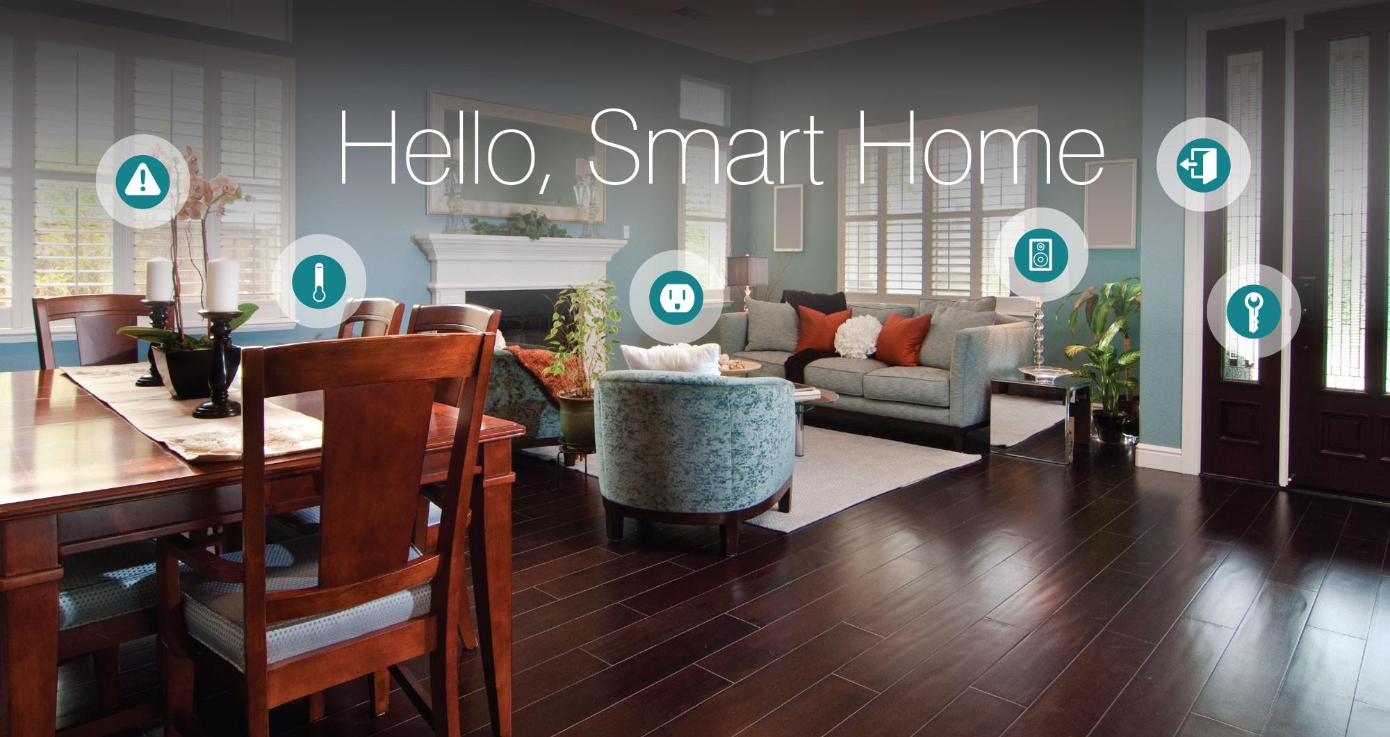 La casa del futuro con le nuove applicazione tecnologiche