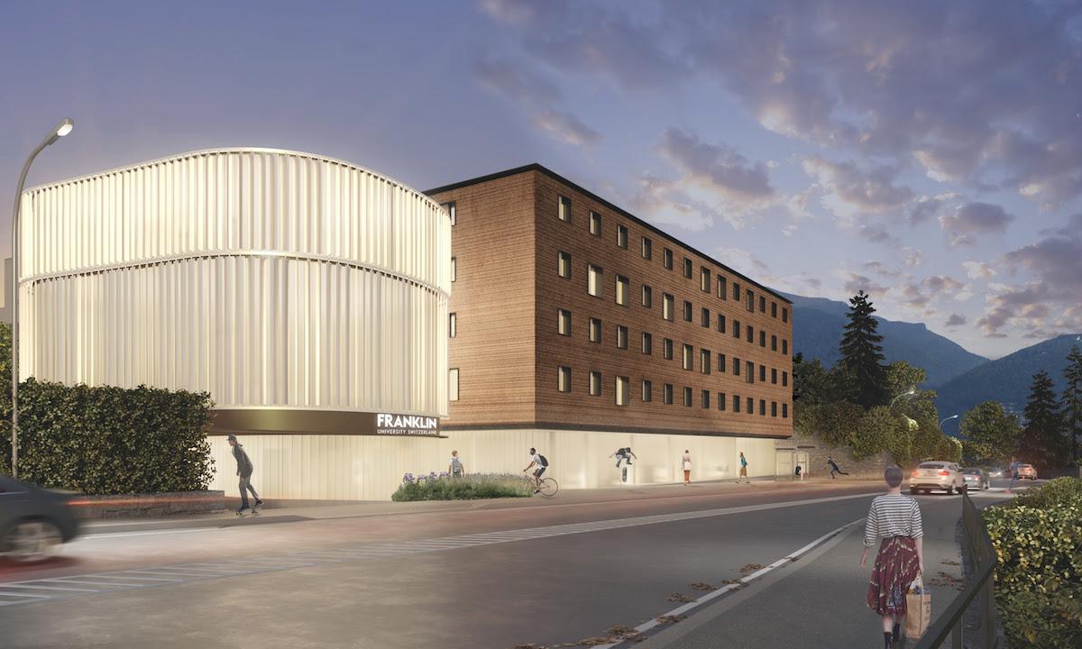 Il nuovo campus della Franklin University Switzerland (FUS) di Lugano