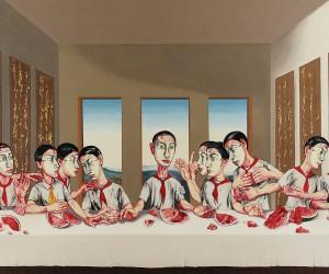 The Last Supper, Zeng Fanzhi, olio su tela, 2001