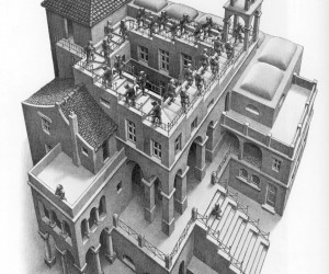 Escher sbarca a Napoli