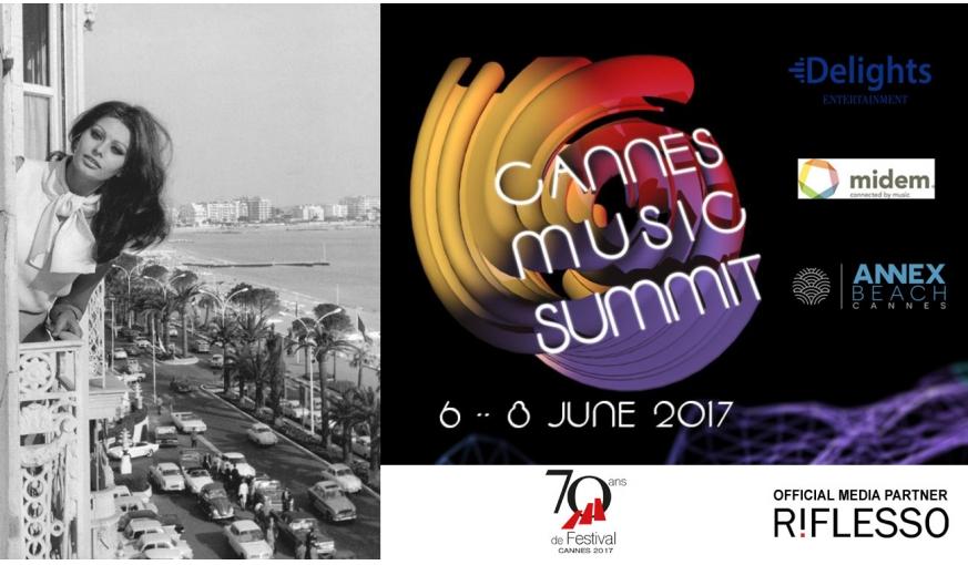 Cannes Music Summit 2017 torna all'Annex Beach