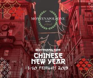 """""""MonteNapoleone Chinese New Year"""""""