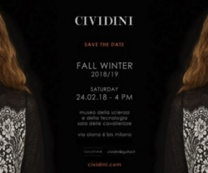 La Collezione Cividini a Milano Moda Donna 2018/2019