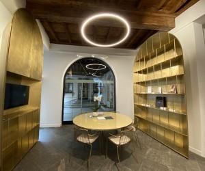 Cino Zucchi firma il nuovo showroom De Castelli