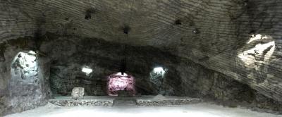 La cattedrale del Sale scolpita nel sottosuolo di Realmonte