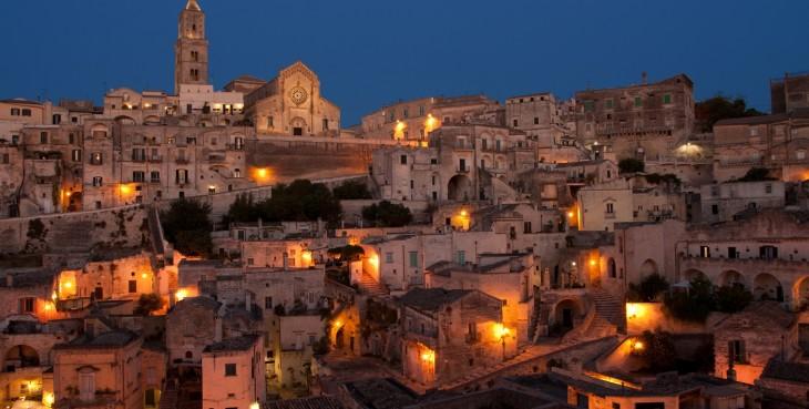 Un mondo sopito nell'antica città di Matera