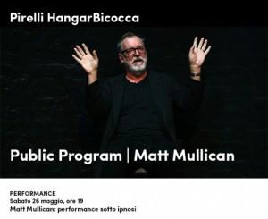 Matt Mullican: performance sotto ipnosi