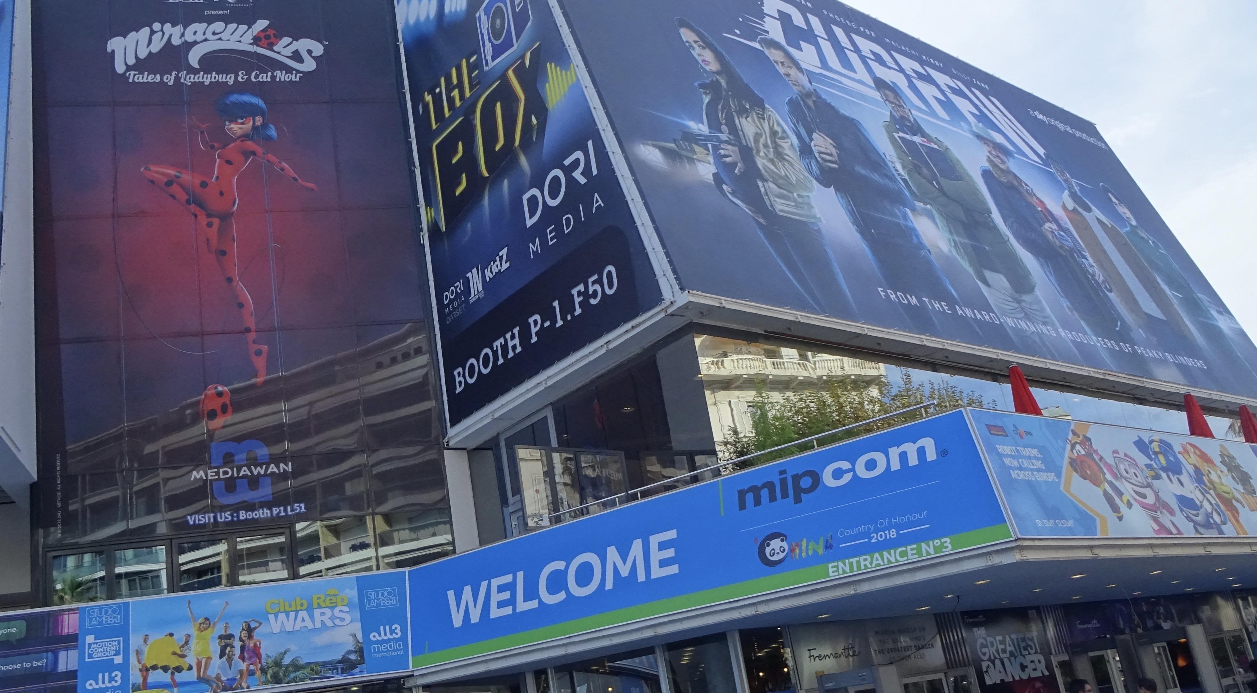 Cannes Mipcom 2018