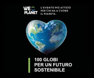 """""""WePlanet - 100 globi per un futuro sostenibile"""""""